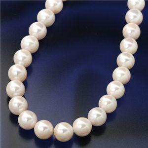 【送料無料】あこや真珠パールネックレス大珠8〜8.5mm珠 パールピアス 鑑別付