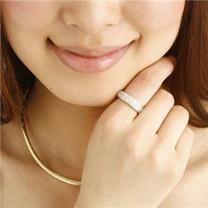 プラチナ8グラム ダイヤモンドパヴェリング 12号の写真3