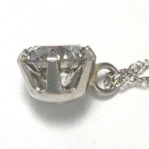 PTダイヤ0.45ctダイヤモンドペンダント