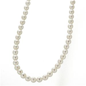 あこや真珠 8.5〜9mm珠 パールネックレス&パールピアス セット(鑑別カード付き) - 拡大画像