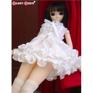 [60cmドール用]ホワイトビスチェメイド服