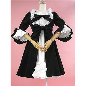 【本格派極上品質】エリザベスコートドレス ブラック