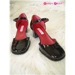 メイドさんの靴(エナメルタイプ) 22.5cm の画像