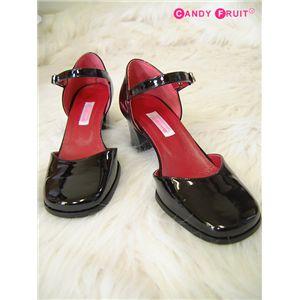 メイドさんの靴(エナメルタイプ) 24.5cm - 拡大画像