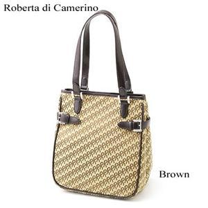 Roberta di Camerino トートバッグ R-17 121050 BROWN - 拡大画像