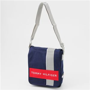 TOMMY HILFIGER(トミーフィルフィガー) ななめがけショルダーバッグ CAMERA BAG Navy×Red