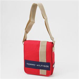 TOMMY HILFIGER(トミーヒルフィガー) ななめがけショルダーバッグ L500078 CAMERA BAG Red×Navy - 拡大画像