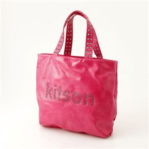 kitson(キットソン) トートバッグ GROMMET TOTE 3986・フューシャ
