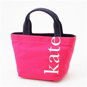 Kate Spade(ケイトスぺード) キャンバストート wkru0587 ピンク