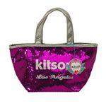 kitson(キットソン) シークインミニトート 3604 フーシア/シルバー