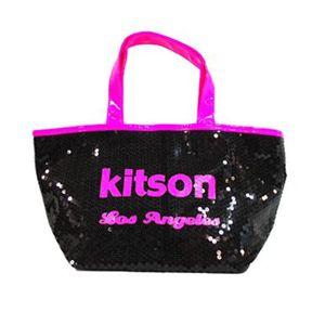 kitson(キットソン) シークインミニトート 3575 ネオンピンク