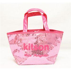 kitson(キットソン) シークインミニトート 3553 ピンク/ピンク