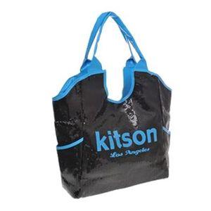 kitson(キットソン) シークイントート 3569 ブラック/ネオンブルー