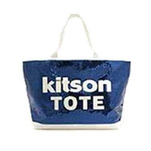 kitson(キットソン) シークインEWトート 3998 ネイビー/ホワイト