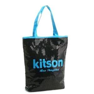 kitson(キットソン) シークインサマートート 3574 ブラック/ブルー