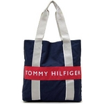 TOMMY HILFIGER(トミーヒルフィガー) HARBOUR POINT II (ハーバーポイント2) NSトート NAVY/RED