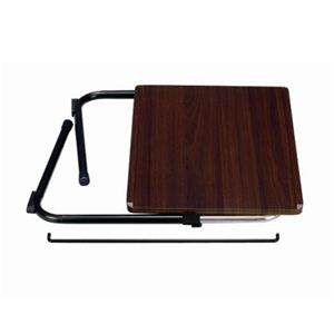 折りたたみサイドテーブル ブラウン