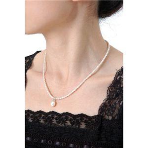 淡水真珠ネックレス - 拡大画像
