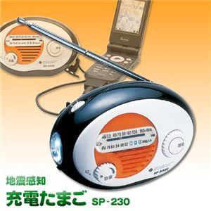 地震感知 充電たまご SP-230 - 拡大画像