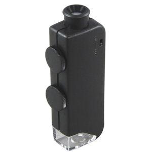 MIZAR-TEC(ミザールテック) 小型顕微鏡 ズーム式 60〜100倍 ブラック NO833