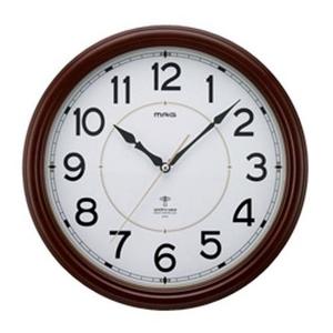 MAG ミランダ 常時点灯機能付き電波掛け時計 W-510BR