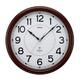 MAG ミランダ 常時点灯機能付き電波掛け時計 W-510BR 写真1