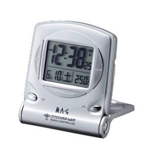 MAG(マグ) ドコデモシグマ トラベラータイプ電波置き時計 T-510SM 3個セット