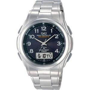 CITIZEN(シチズン) 腕時計 Q&Q MCS1-302 ブラック 【電波時計】 - 拡大画像
