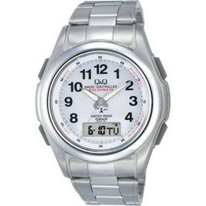 CITIZEN(シチズン) 腕時計 Q&Q MCS4-301 シルバー 【電波時計】 - 拡大画像