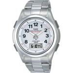 CITIZEN(シチズン) 腕時計 Q&Q MCS4-301 シルバー 【電波時計】