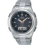 CITIZEN(シチズン) 腕時計 Q&Q MCS4-303 ブラック 【電波時計】