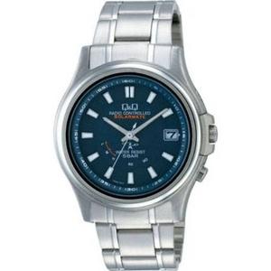 CITIZEN(シチズン) 腕時計 Q&Q HG00-202 ブラック 【電波時計】 - 拡大画像