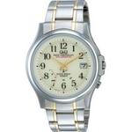 CITIZEN(シチズン) 腕時計 Q&Q HG00-203 アイボリー 【電波時計】