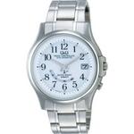 CITIZEN(シチズン) 腕時計 Q&Q HG00-204 シルバー 【電波時計】