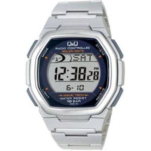 CITIZEN(シチズン) 腕時計 Q&Q MHS3-301 シルバー 【電波時計】 - 拡大画像