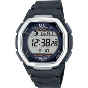 CITIZEN(シチズン) 腕時計 Q&Q MHS3-101 シルバー 【電波時計】 - 拡大画像