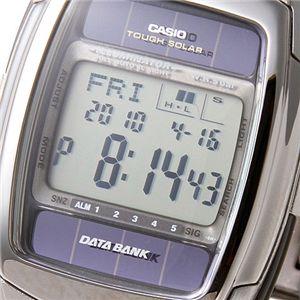 CASIO(カシオ) 腕時計 DB-E30D-1AJF/データバンク・ブラック画像2