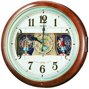 セイコークロック 電波からくり時計 RE559H - 拡大画像