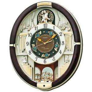 セイコークロック からくり壁掛け時計 RE571B - 拡大画像