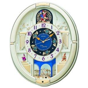 セイコークロック 電波からくり壁掛け時計 RE572S - 拡大画像