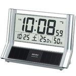 SEIKO CLOCK(セイコークロック) デジタル表示 ソーラー電波置き時計 SQ690S