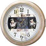 SEIKO CLOCK(セイコークロック) ディズニー 電波からくり掛け時計 FW561A