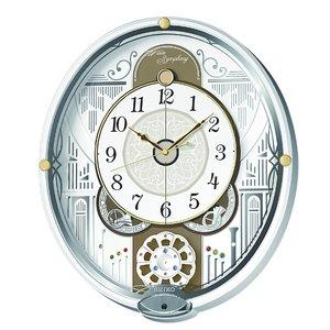 セイコークロック 電波からくり掛け時計 RE570W - 拡大画像