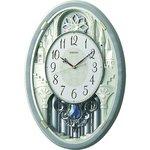 セイコークロック ウエーブシンフォニー 電波掛け時計 AM256S