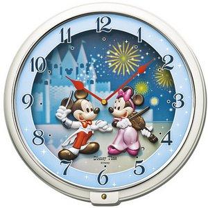 SEIKO CLOCK(セイコークロック) ミッキー&フレンズ メロディ掛け時計FW568W - 拡大画像