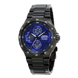 リコー RICOH シュルード・アンビション(SHREWD AMBITION) 太陽光発電式腕時計 メンズ 759002-92 - 拡大画像