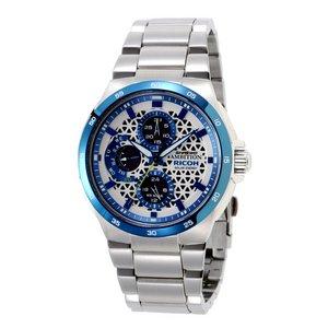 リコー RICOH シュルード・アンビション(SHREWD AMBITION) 太陽光発電式腕時計 メンズ 759002-21 - 拡大画像