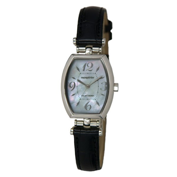 リコー RICOH monperier emit(モンペリエ・エミット) 太陽光充電方式腕時計 レディース 699002-11f00