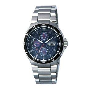 リコー RICOH シュルード・アンビション(SHREWD AMBITION) 太陽光発電式腕時計 759002-01 - 拡大画像