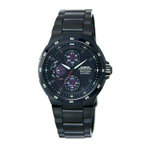リコー RICOH シュルード・アンビション(SHREWD AMBITION) 太陽光発電式腕時計 759002-91 - 拡大画像